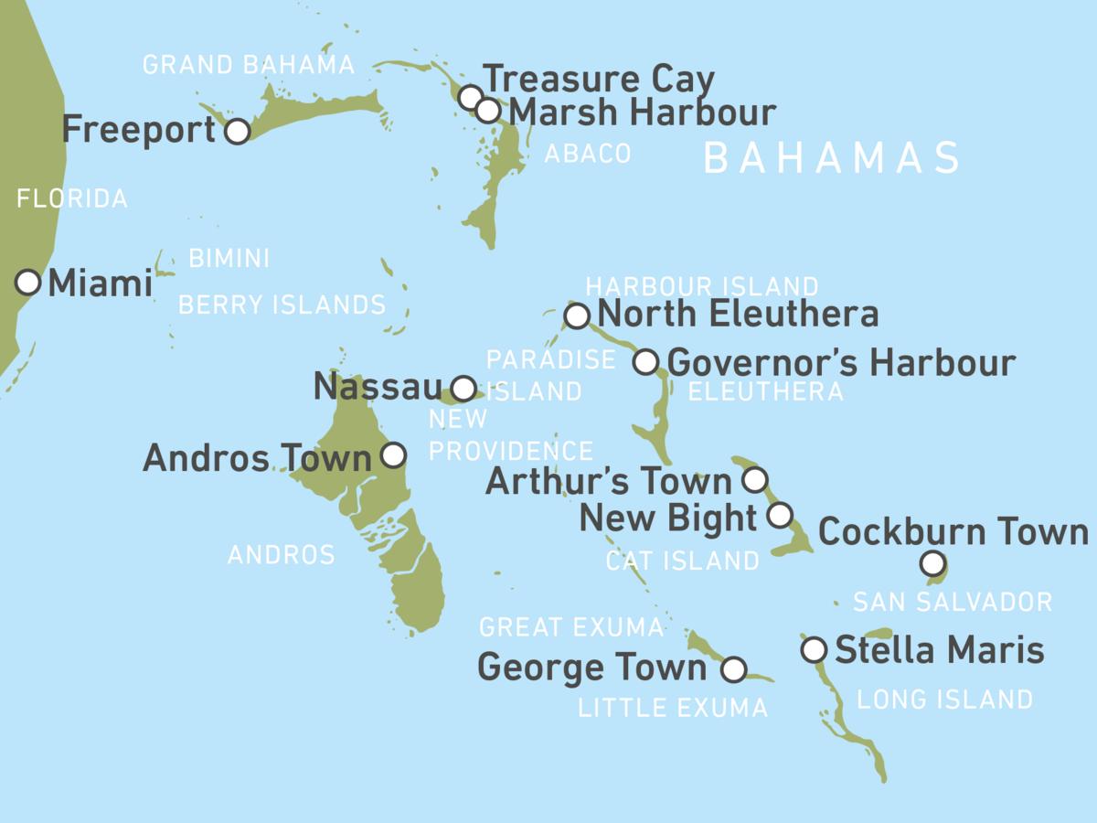 Reiseziele Bahamas