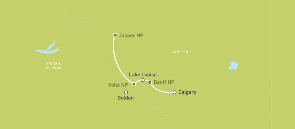 Das Beste von Banff und Jasper