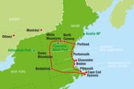 USA Routenvorschläge: Neuenglandstaaten