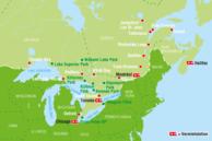 Kanada Ost Kanada Routenvorschläge: Ost Kanada
