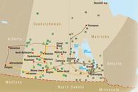 Kanada Manitoba & Saskatechwan Routenvorschläge: Manitoba & Saskatechwan
