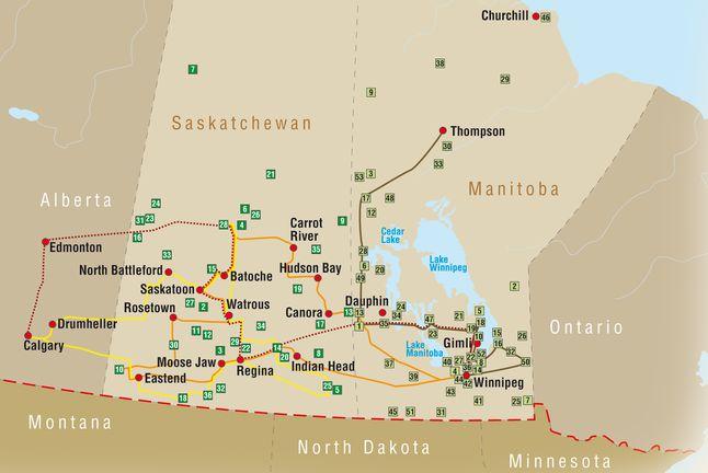 National Parks und Provincial Parks