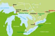Kanada Ontario Routenvorschläge: Kanada Ontario