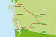Kanada West-Kanada Routenvorschläge: West-Kanada