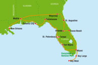 USA Südstaaten Florida Routenvorschläge: Südstaaten & Florida