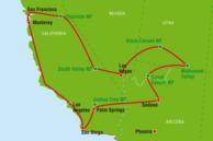 USA Westen Routenvorschläge: West-USA