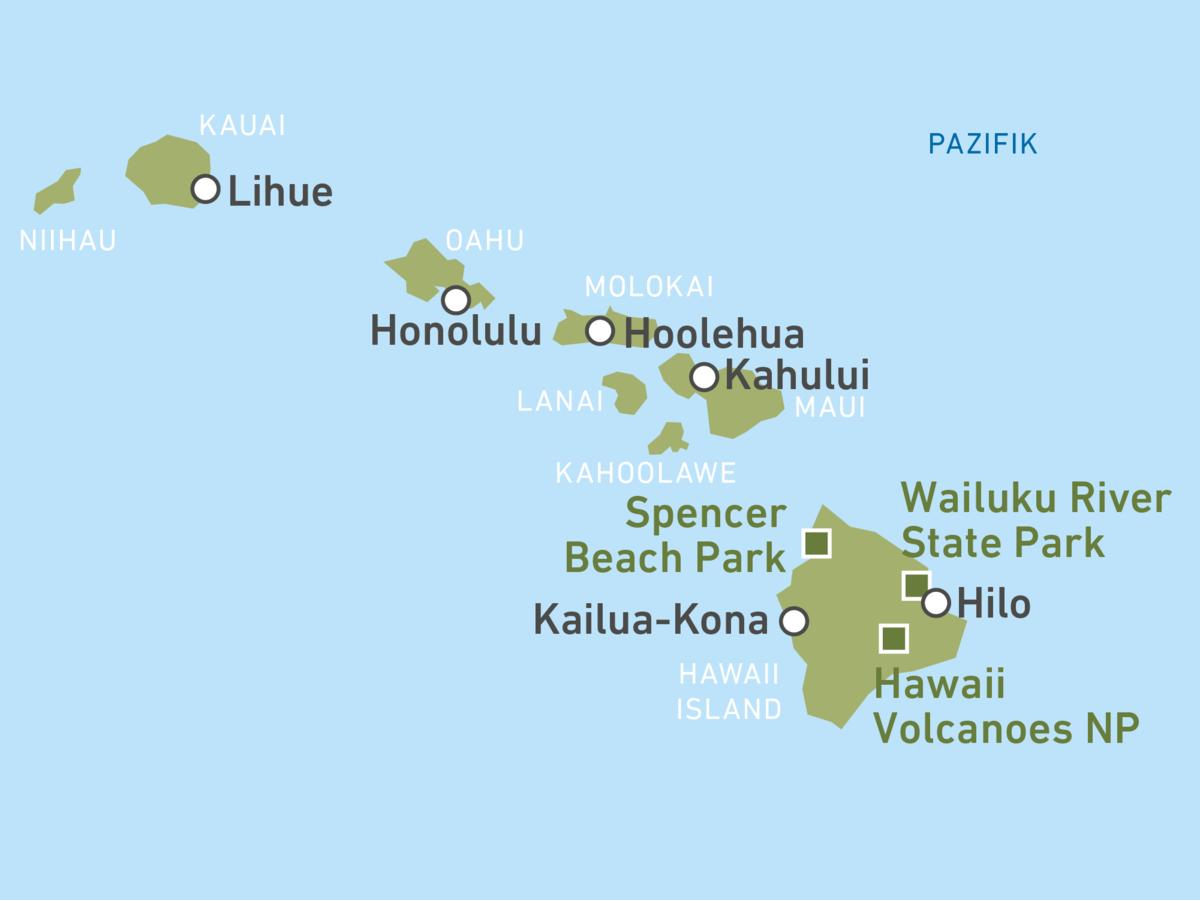 Reieziele Hawaii