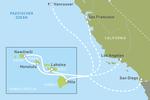 Ab Kalifornien oder Vancouver nach Hawaii mit dem Kreuzfahrtschiff