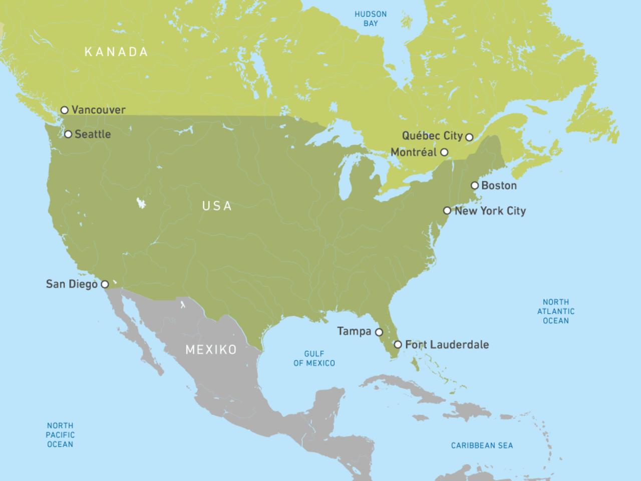 Holland America Line: Kreuzfahrten zu traumhaften Zielen   CANUSA