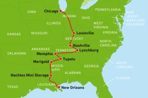 Ihre Route auf der Triple B Tour