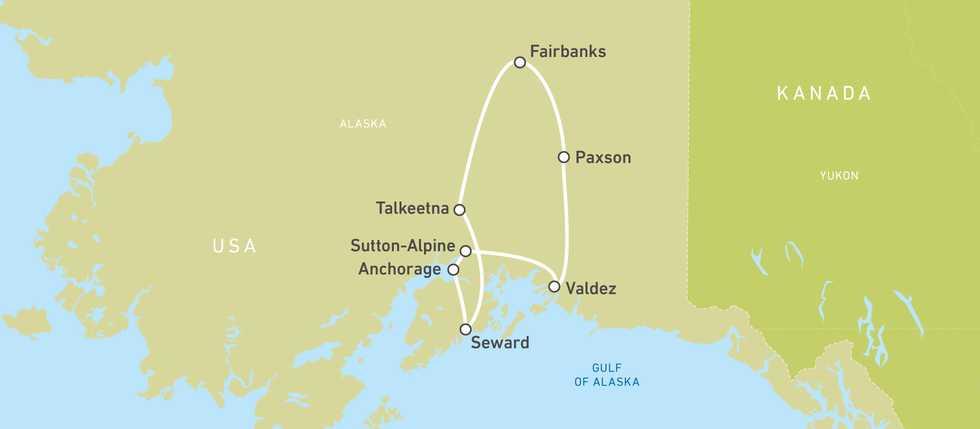 Eagle Rider Alaskan Sumer