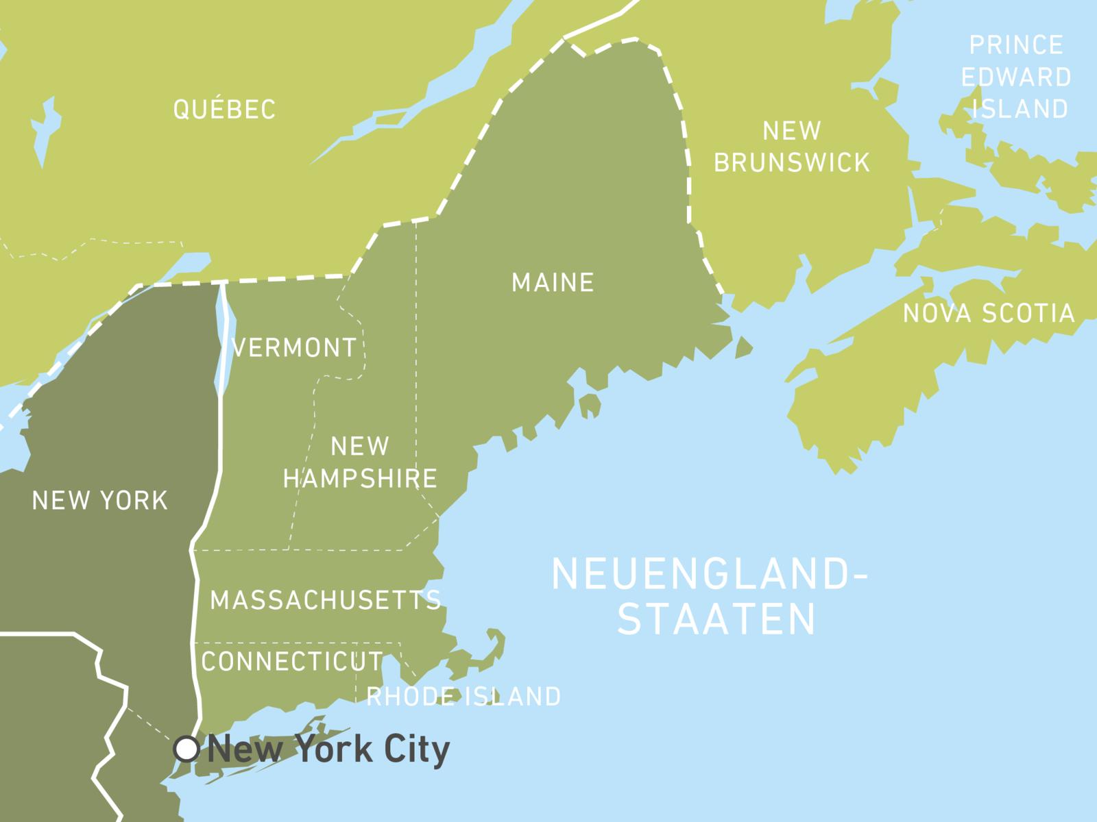 Neuengland-Staaten