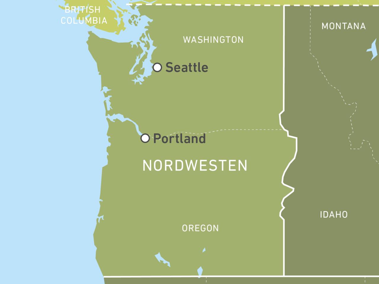 Individuelle Oregon & Washington Reisen buchen! | CANUSA
