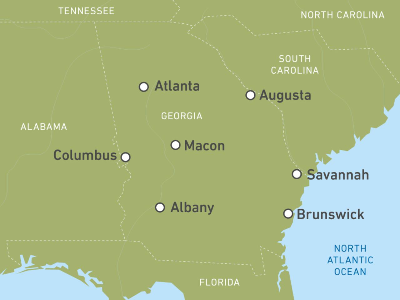 Georgia Reisen Urlaub In Den Südstaaten Der Usa Buchen Canusa
