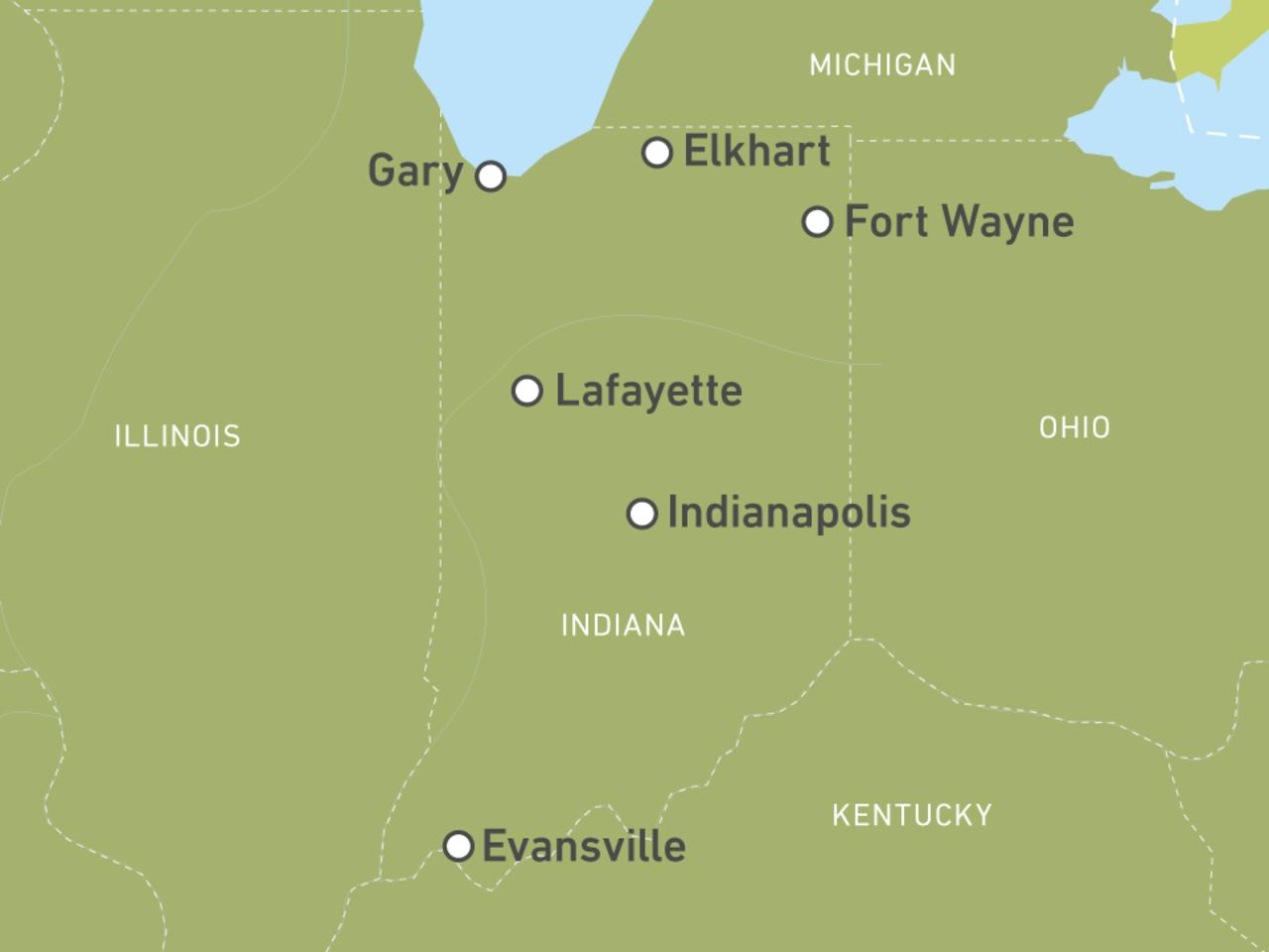 Indiana-Reisen: Individuelle Rundreisen durch die USA   CANUSA