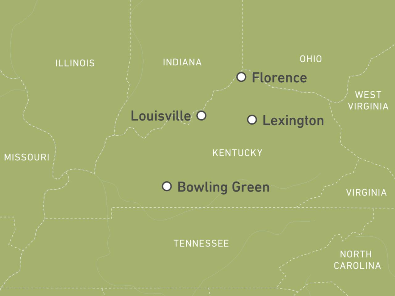 Kentucky-Reisen: Urlaub in den US-Südstaaten! | CANUSA