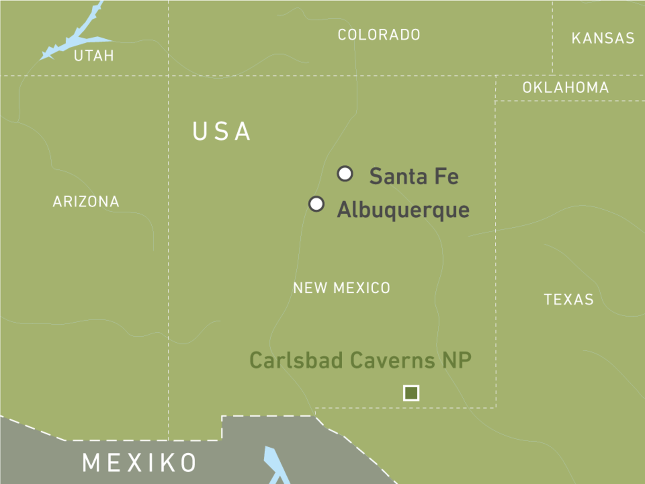 New Mexico Reisen – Canyons & Nationalparks entdecken! | CANUSA