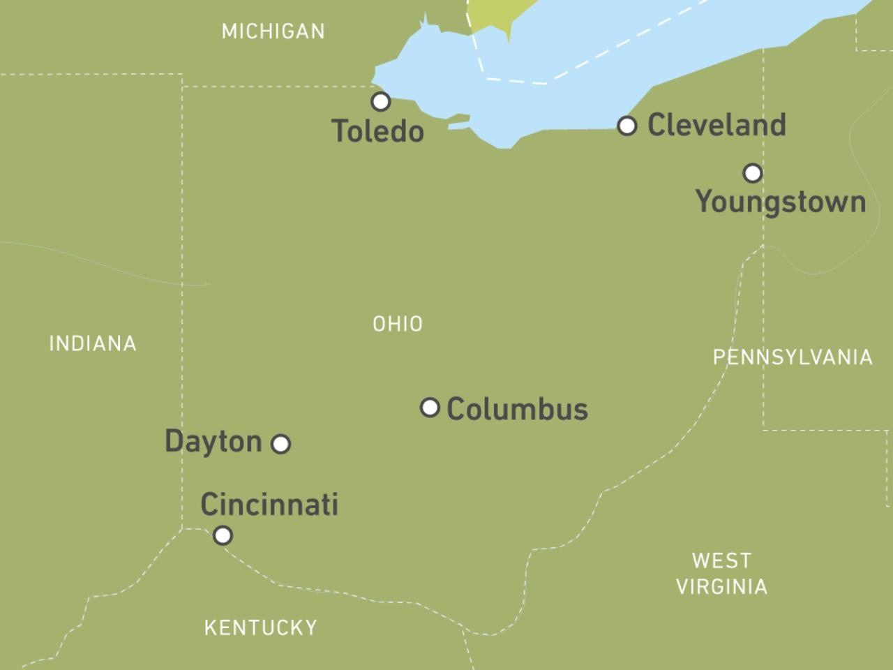 Ohio-Reisen: Individuelle Rundreisen durch die USA | CA on