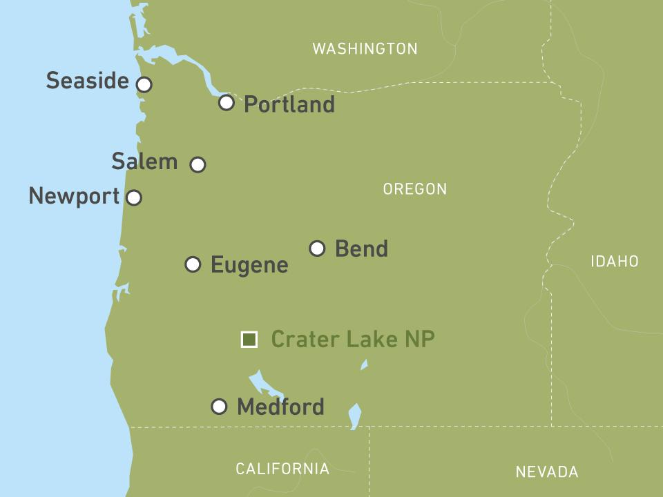Ihre Reise durch Oregon & Portland buchen! | CANUSA