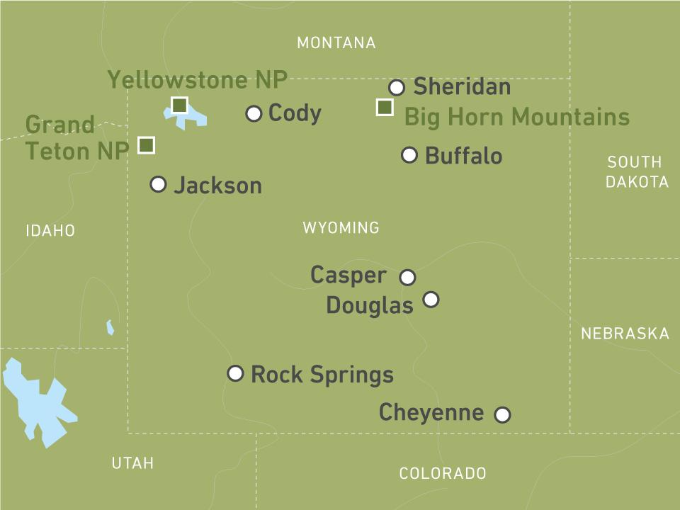 Jetzt Wyoming Reisen individuell buchen! | CANUSA