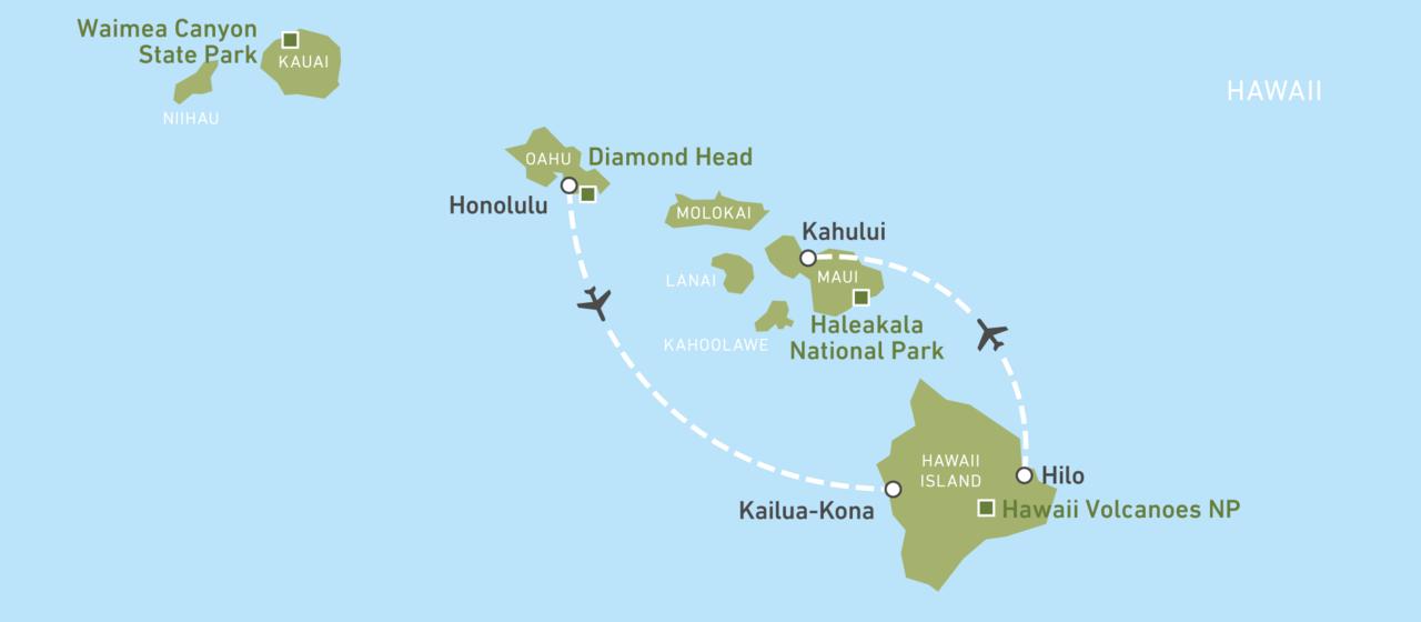 Island Hopping Hawaii: Oahu, Hawaii und Maui | CANUSA