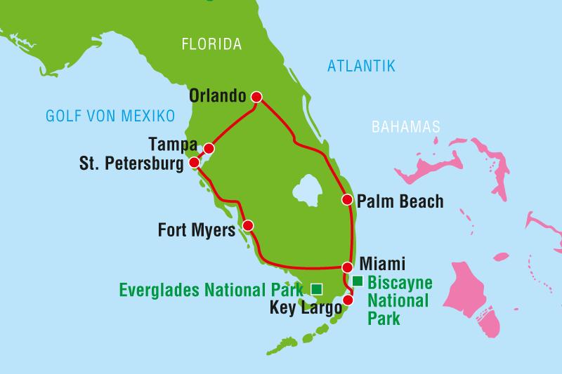 West Palm Beach To Everglades National Park