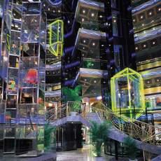 Impressionen des Carnival Imagination Kreuzfahrtschiffes von der Carnival Cruise Line Reederei