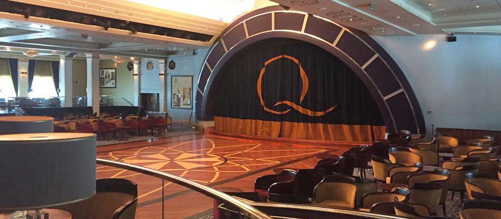 Der Ballsaal auf der Queen Mary 2