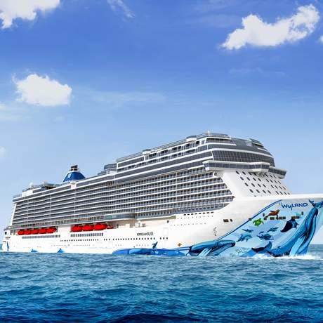 Kreuzfahrtschiff der Norwegian Cruise Line