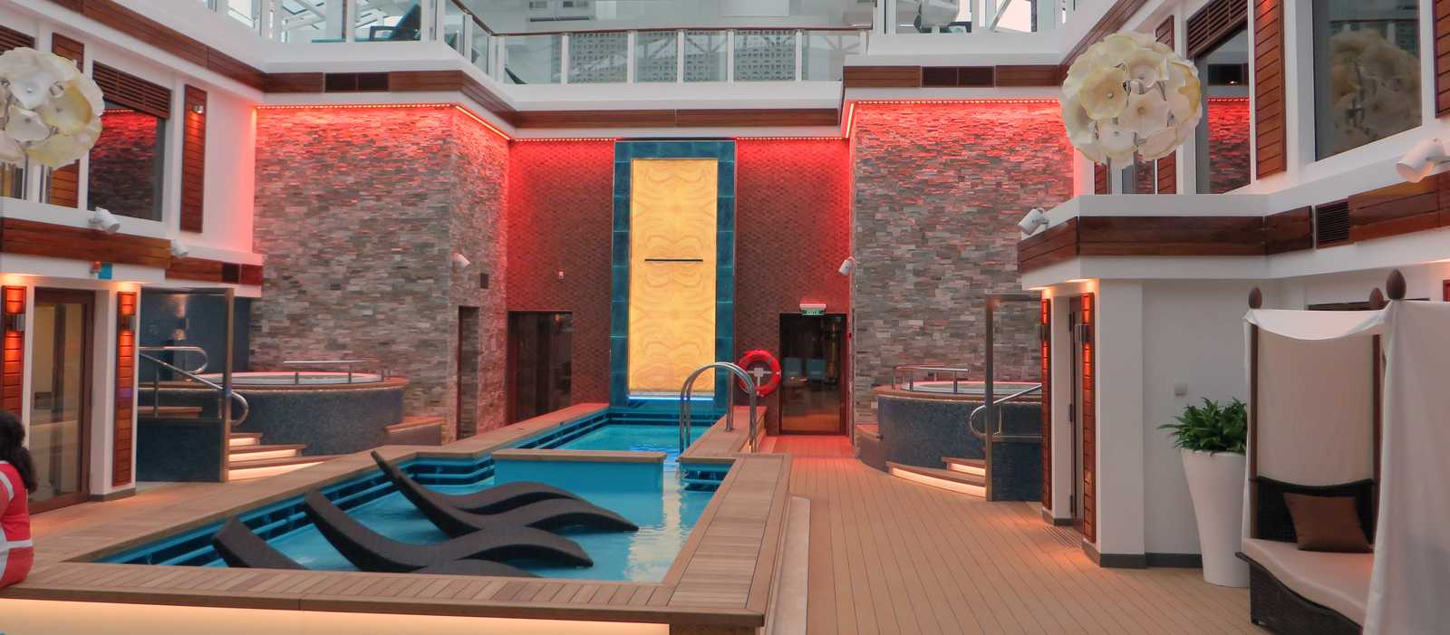 Der Privatbereich The Haven der Norwegian Cruise Line