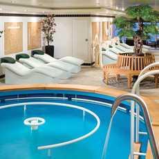 Therapy Pool - Deck 12 Forward Norwegian Gem - Norwegian Cruise Line