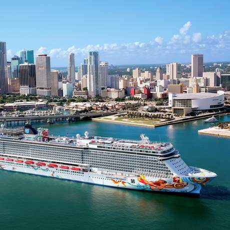 Die Norwegian Getaway von Norwegian Cruise Line in Miami