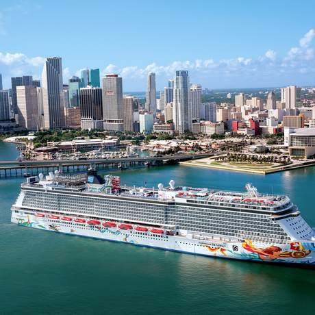Die Norwegian Getaway von Norwegian Cruise Line in Miami