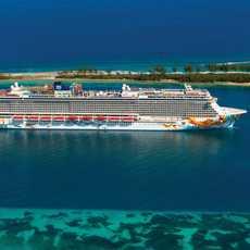 Norwegian Getaway vor Nassau, Bahamas