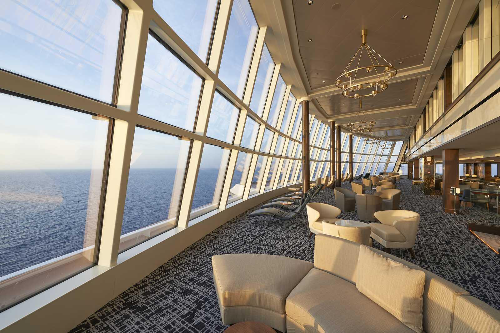 Die Concierge Lounge der Norwegian Joy von NCL