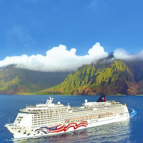 Pride of America, Na Pali Coast, Kauai