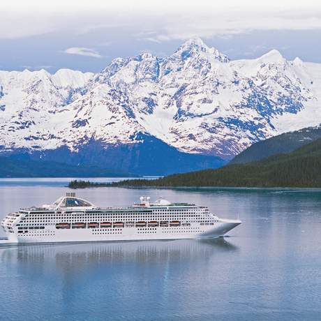 Dawn Princess in Alaska