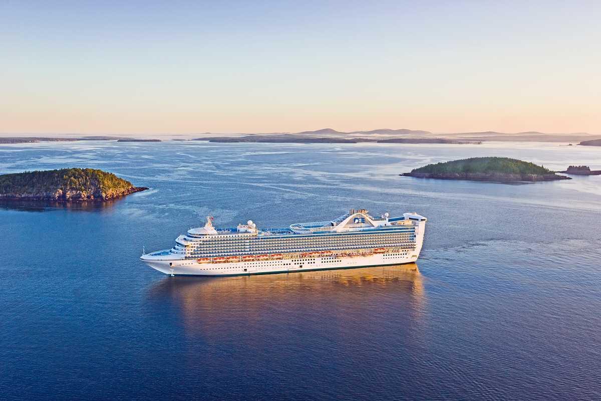 Kreuzfahrt mit der Caribbean Princess in Bar Harbor/Maine