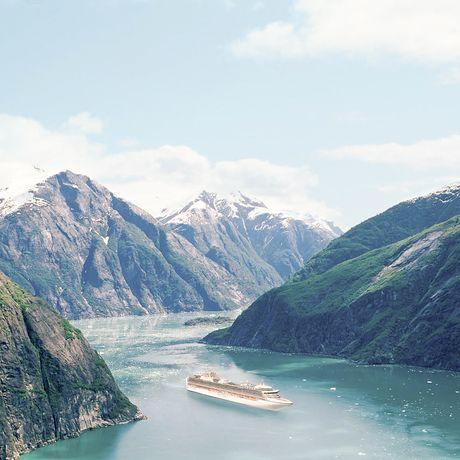 Die Diamond Princess in Alaska