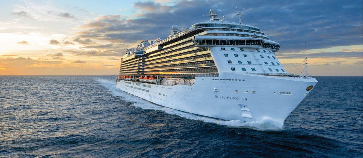 Das Royal Princess Kreuzfahrtschiff der Princess Cruises Reederei