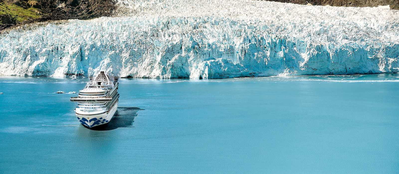 Die Star Princes in der Glacier Bay in Alaska