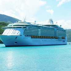 Freedom of the Seas vor Labadee, Hawaii
