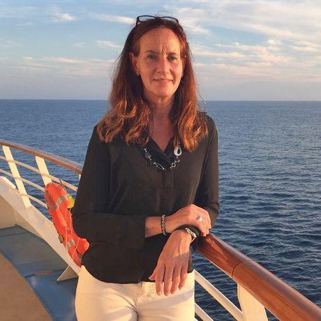 Katja Höbel an Bord der Harmony of the Seas der Royal Caribbean Reederei