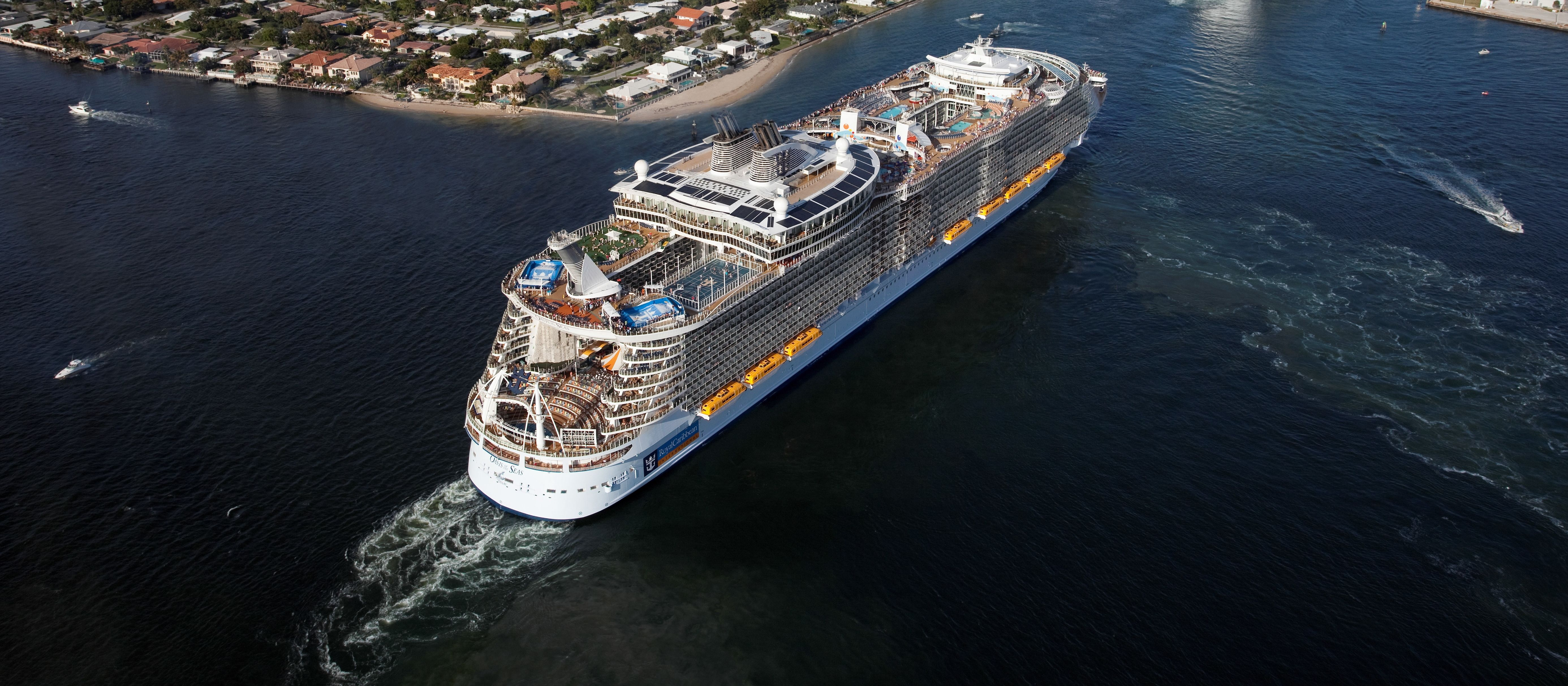 Oasis of the Seas und Independence of the Seas