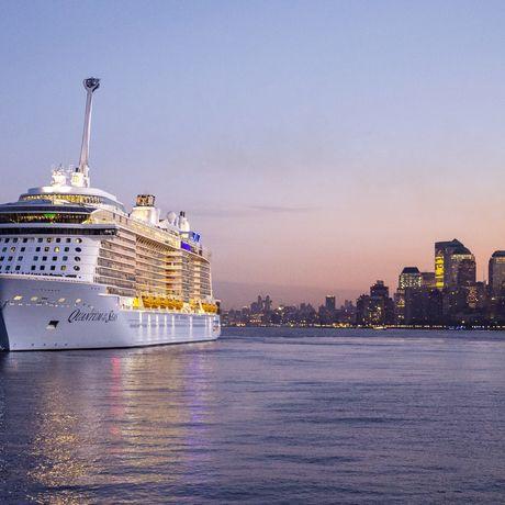 Quantum of the Seas erstmals vor New York