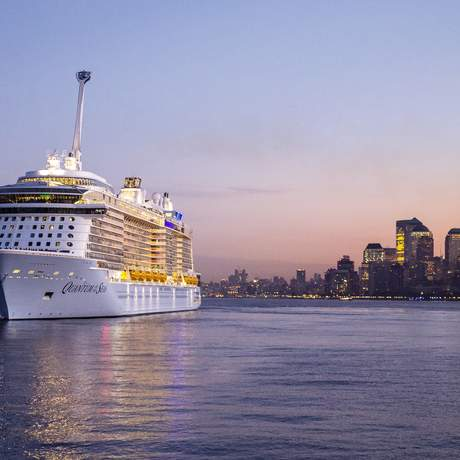 Quantum of the Seas erstmals vor New York