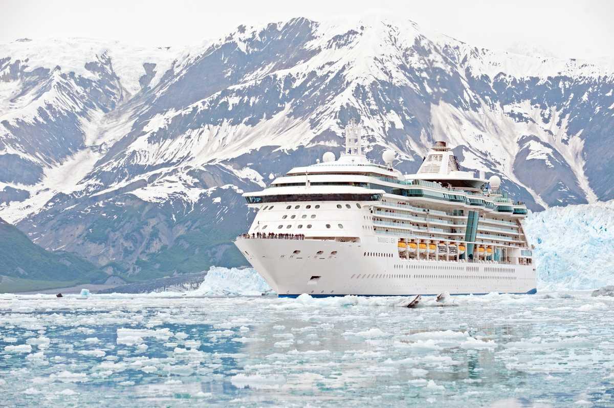 Radiance of the Seas am Hubbard Glacier