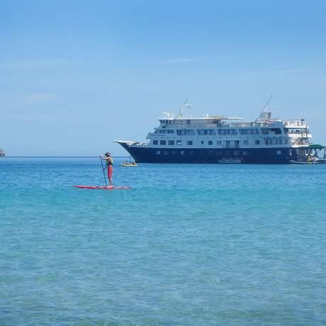 Das Safari Endeavour Schiff der UnCruise Adventures, Mexico