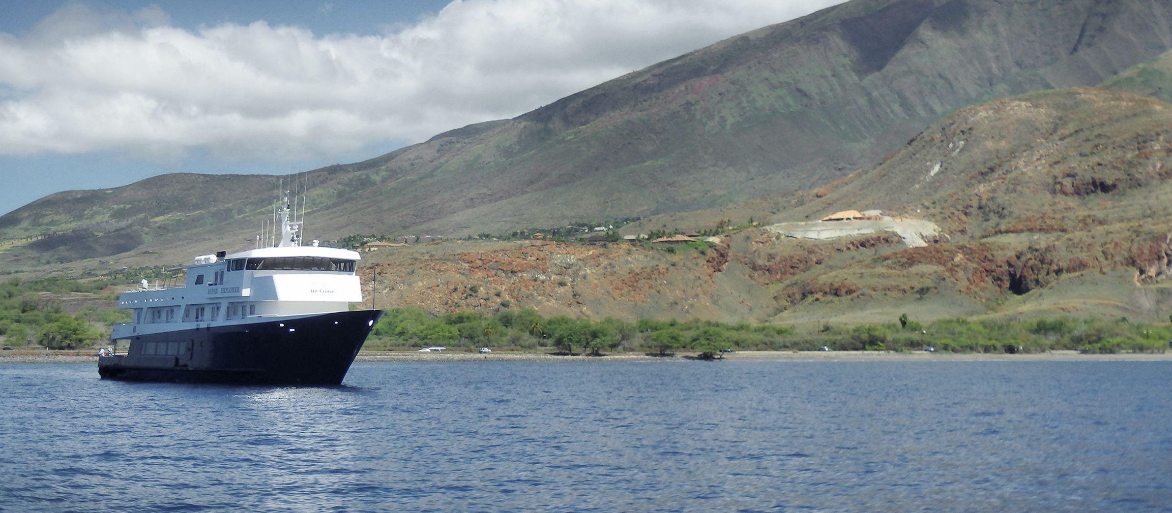 Das Safari Explorer Kreuzfahrtschiff der UnCruise Adventures, Alaska