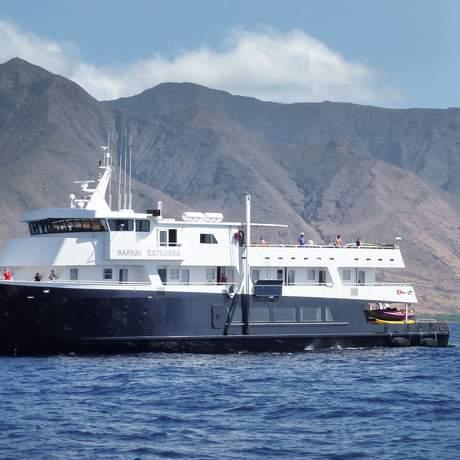 Das Safari Explorer Kreuzfahrtschiff der UnCruise Adventures
